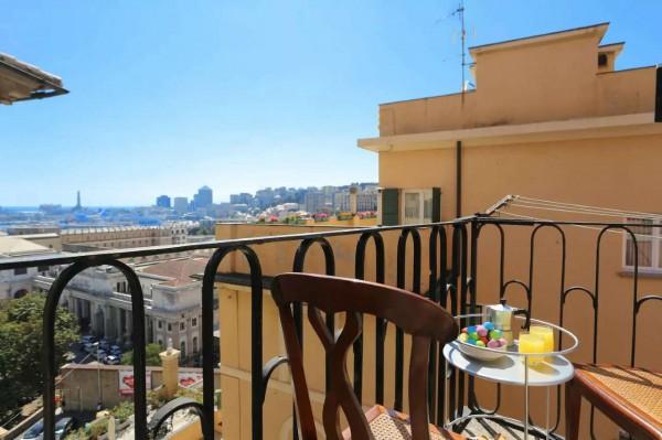 Appartamento in vendita a Genova, Principe, Arredato, 92 mq