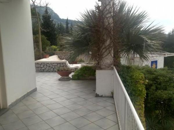 Villa in vendita a Anacapri, Anacapri, Con giardino, 135 mq