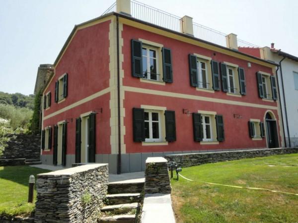 Villa in vendita a Lavagna, S.giulia, Arredato, con giardino, 170 mq