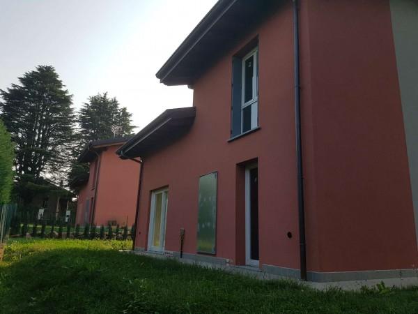Villa in vendita a Casciago, Morosolo, Con giardino, 186 mq - Foto 57