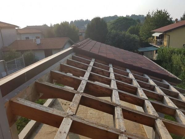 Villa in vendita a Casciago, Morosolo, Con giardino, 186 mq - Foto 14