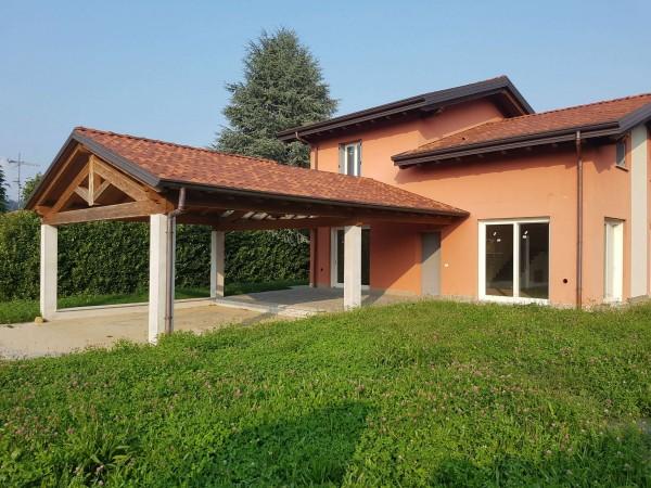 Villa in vendita a Casciago, Morosolo, Con giardino, 186 mq - Foto 26