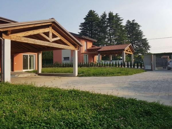 Villa in vendita a Casciago, Morosolo, Con giardino, 186 mq - Foto 4