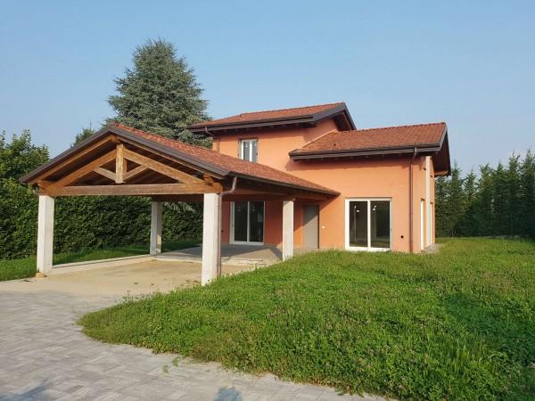 Villa in vendita a Casciago, Morosolo, Con giardino, 186 mq - Foto 16