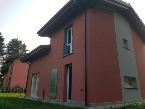 Villa in vendita a Casciago, Morosolo, Con giardino, 186 mq - Foto 30