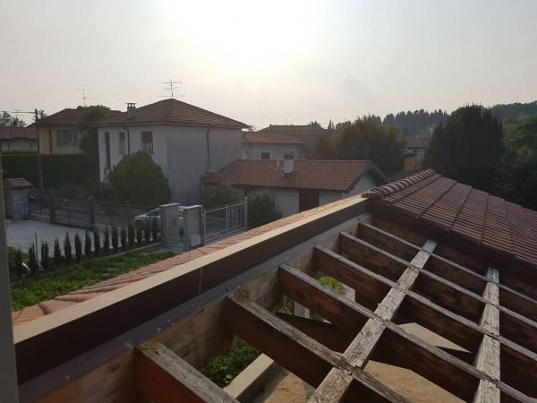 Villa in vendita a Casciago, Morosolo, Con giardino, 186 mq - Foto 23