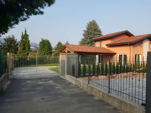 Villa in vendita a Casciago, Morosolo, Con giardino, 186 mq - Foto 49