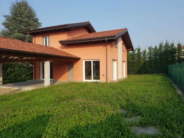 Villa in vendita a Casciago, Morosolo, Con giardino, 186 mq - Foto 44