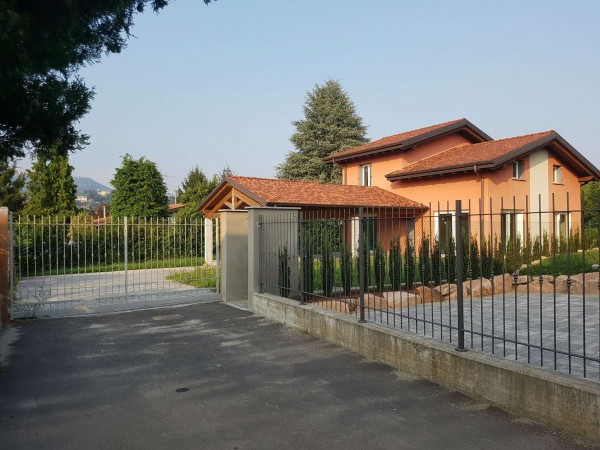 Villa in vendita a Casciago, Morosolo, Con giardino, 186 mq - Foto 42