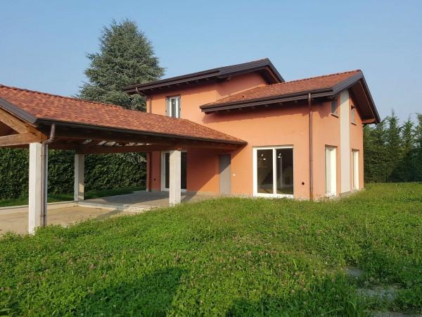 Villa in vendita a Casciago, Morosolo, Con giardino, 186 mq - Foto 35