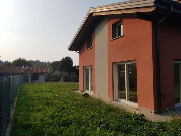 Villa in vendita a Casciago, Morosolo, Con giardino, 186 mq - Foto 45