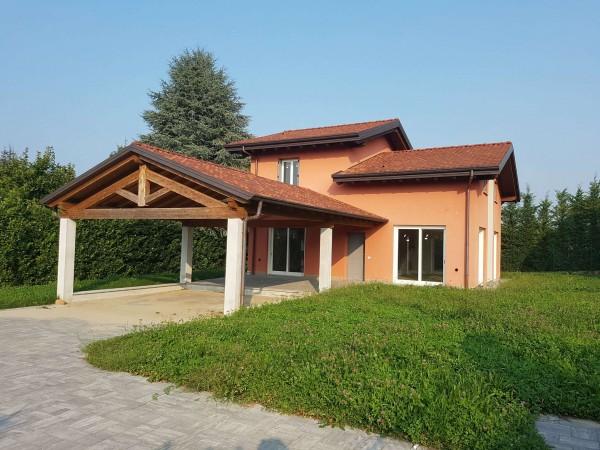 Villa in vendita a Casciago, Morosolo, Con giardino, 186 mq - Foto 55