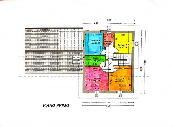Villa in vendita a Casciago, Morosolo, Con giardino, 186 mq - Foto 7