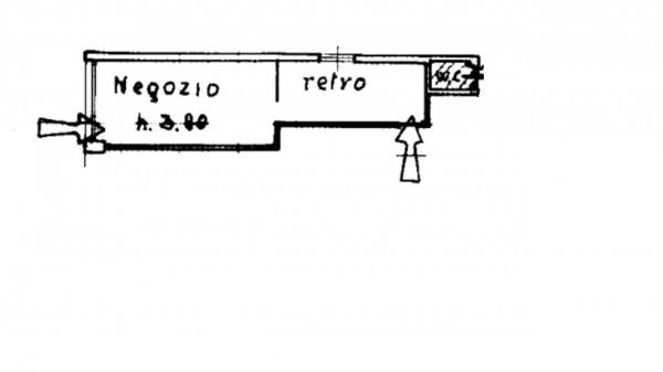 Negozio in vendita a Milano, 71 mq - Foto 2