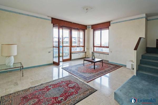 Appartamento in vendita a Milano, San Siro, Con giardino, 250 mq - Foto 31