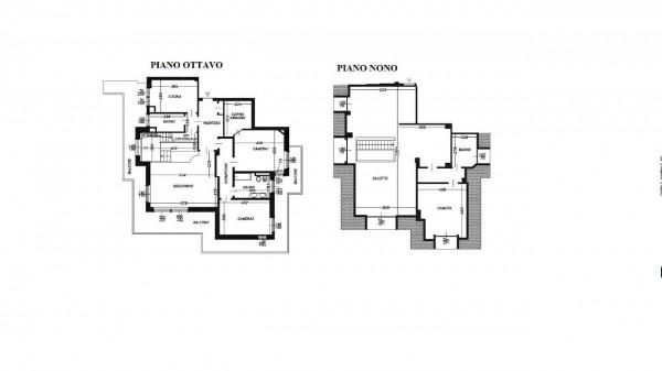 Appartamento in vendita a Milano, San Siro, Con giardino, 250 mq - Foto 35
