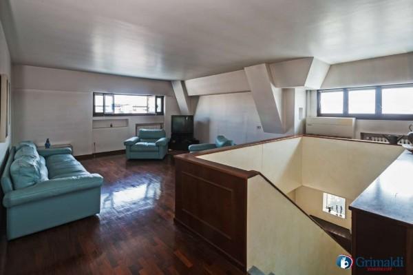 Appartamento in vendita a Milano, San Siro, Con giardino, 250 mq - Foto 21