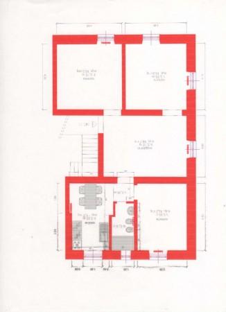 Appartamento in vendita a Genova, Inizio Via  Borzoli, 112 mq - Foto 3