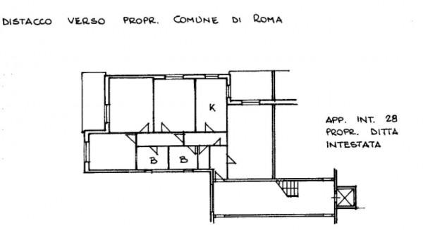 Appartamento in vendita a Roma, Torrino, Con giardino, 119 mq - Foto 16
