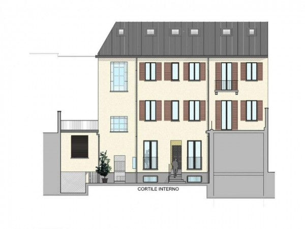 Appartamento in vendita a Milano, Washington, Con giardino, 45 mq