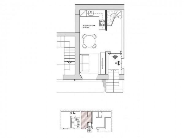 Appartamento in vendita a Milano, Washington, Con giardino, 60 mq - Foto 5
