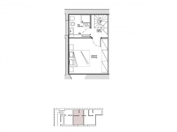 Appartamento in vendita a Milano, Washington, Con giardino, 60 mq - Foto 4