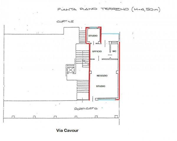 Ufficio in vendita a Alpignano, Centro, 65 mq - Foto 3