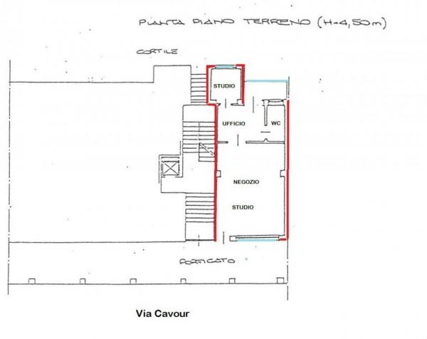 Ufficio in vendita a Alpignano, Centro, 65 mq - Foto 2