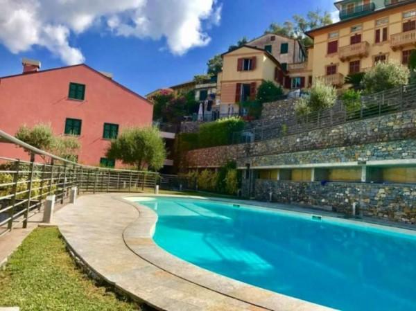 Appartamento in vendita a Zoagli, Centro Città, Con giardino, 72 mq