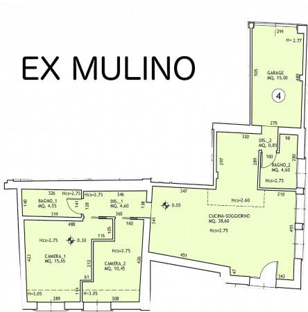 Appartamento in vendita a San Giovanni in Persiceto, Centro, Con giardino, 122 mq