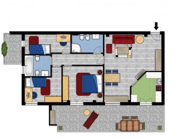 Appartamento in vendita a Aprilia, Centro Urbano, 70 mq
