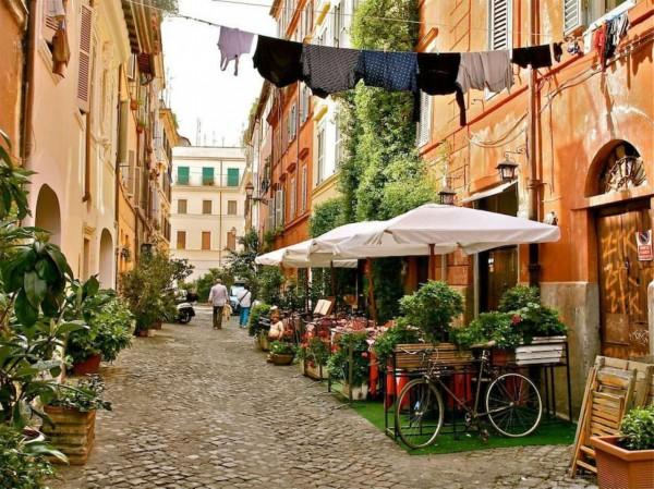 Locale Commerciale  in vendita a Roma, Piazza Di San Cosimato, Arredato, 90 mq - Foto 3
