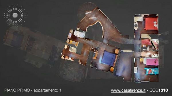 Villa in vendita a Firenze, Con giardino, 380 mq - Foto 39