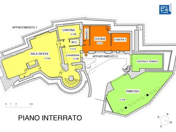 Villa in vendita a Firenze, Con giardino, 380 mq - Foto 2