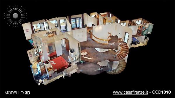 Villa in vendita a Firenze, Con giardino, 380 mq - Foto 67