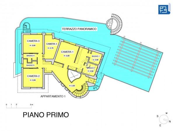 Villa in vendita a Firenze, Con giardino, 380 mq - Foto 3