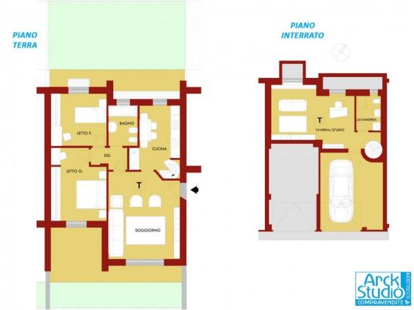 Appartamento in vendita a Treviglio, Casirate, 117 mq - Foto 12