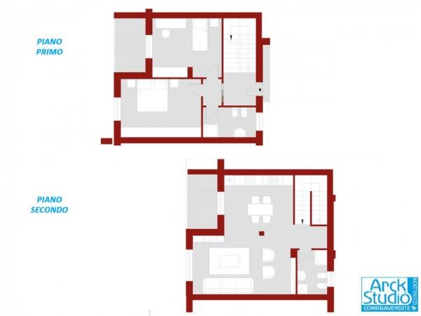 Appartamento in vendita a Treviglio, Casirate, 117 mq - Foto 17