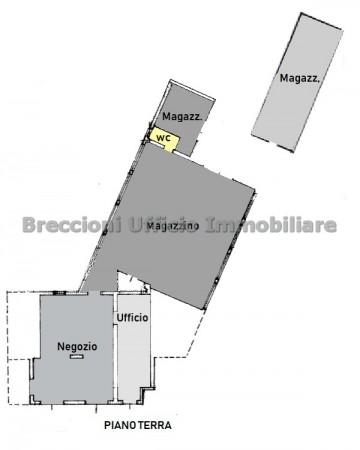Negozio in vendita a Trevi, Matigge, Con giardino, 270 mq - Foto 13