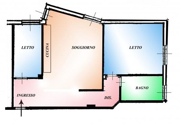 Appartamento in vendita a Pomezia, Centro, 75 mq