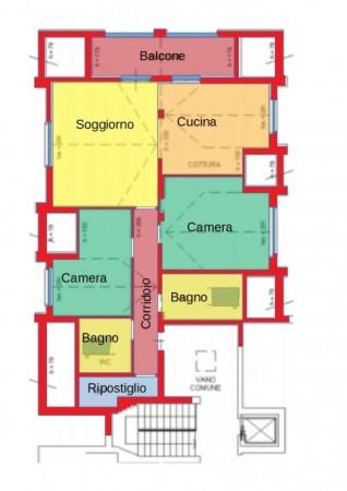 Appartamento in vendita a Carpiano, Residenziale, Con giardino, 143 mq - Foto 2