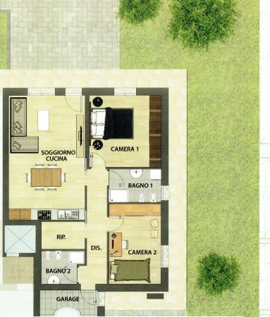 Appartamento in vendita a Albignasego, San Tommaso, Con giardino, 78 mq