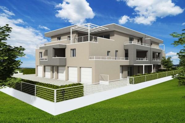 Appartamento in vendita a Abano Terme, Monteortone, Con giardino, 100 mq