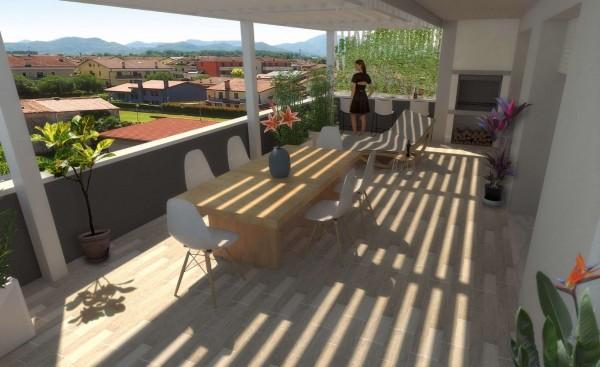 Appartamento in vendita a Albignasego, San Tommaso, 142 mq