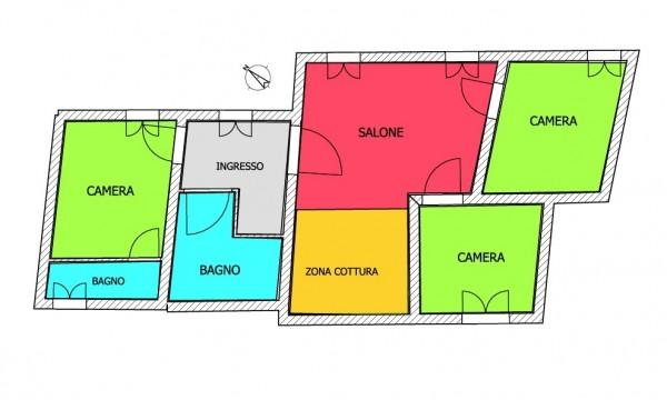 Appartamento in affitto a Imperia, 103 mq
