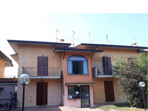 Trilocale in affitto a Montichiari, Novagli, 65 mq