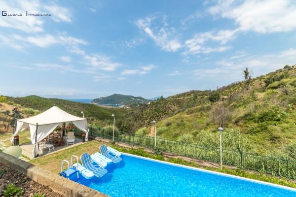 Villa in vendita a Sestri Levante, Sestri Levante, Con giardino, 450 mq