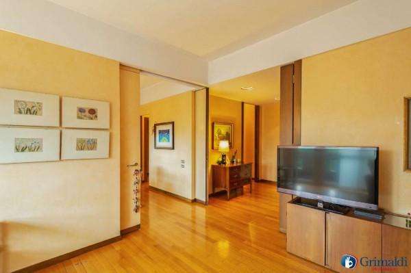 Appartamento in vendita a Milano, Con giardino, 145 mq - Foto 35
