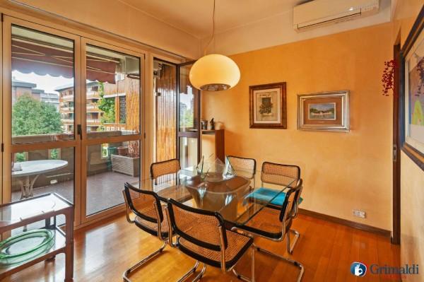 Appartamento in vendita a Milano, Con giardino, 145 mq - Foto 34