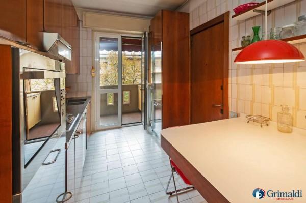 Appartamento in vendita a Milano, Con giardino, 145 mq - Foto 24